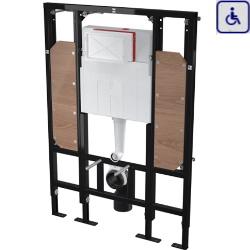 Podtynkowy system instalacyjny rama do suchej zabudowy dla osób o ograniczonej sprawności ruchowej ALCOAM101/1300H