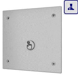 System spłukiwania toalet wykorzystujący ciśnienie z sieci o podwyższonym stopniu wandalizmu AKC14016