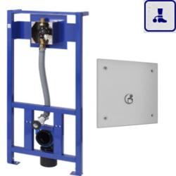 System spłukiwania toalet ze stelażem o podwyższonym stopniu wandalizmu AKC04105