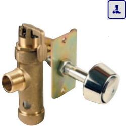 System spłukiwaia toalet do podłogi o podwyższonym stopniu wandalizmu AKC07016.10