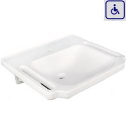 Umywalka z uchwytami dla osób niepełnosprawnych PMR 606/555/1A