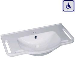 Umywalka z uchwytami dla osób niepełnosprawnych WMB1002