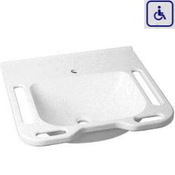 Umywalka z uchwytami dla osób niepełnosprawnych WMB600