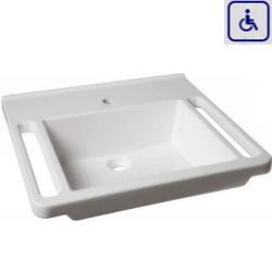 Umywalka z uchwytami dla osób niepełnosprawnych WMB601