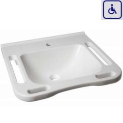 Umywalka z uchwytami dla osób niepełnosprawnych WMB602