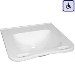 Umywalka z uchwytami dla osób niepełnosprawnych WMB602ECO