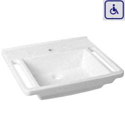 Umywalka z uchwytami dla osób niepełnosprawnych WMB603