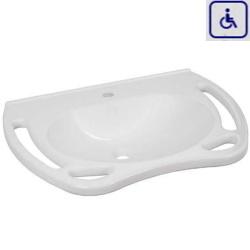 Umywalka z uchwytami dla osób niepełnosprawnych WMB700