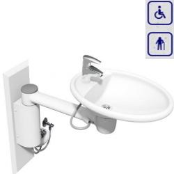Umywalka mobilna z manualną regulacją wysokości 40-41130