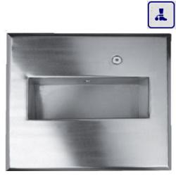 Umywalka podtynkowa o podwyższonym stopniu wandalizmu AKC135080