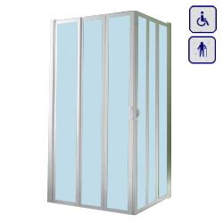 Kabina prysznicowa dla seniorów oraz osób niepełnosprawnych KW100x100