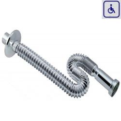 Syfon elastyczny umywalkowy dla osób niepełnosprawnych AK076