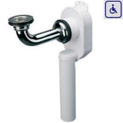 Syfon podtynkowy umywalkowy dla osób niepełnosprawnych AKSUP