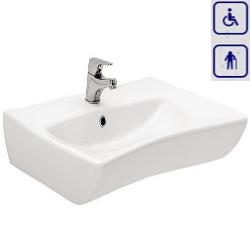 Umywalka ergonomiczna dla seniorów oraz osób niepełnosprawnych AK0041