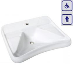 Umywalka ergonomiczna dla seniorów oraz osób niepełnosprawnych AN01
