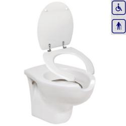WC bidet, miska wisząca dla seniorów oraz osób niepełnosprawnych AN04