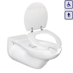 WC bidet, miska wisząca dla seniorów oraz osób niepełnosprawnych AN05