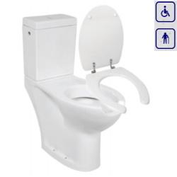 WC bidet dla seniorów oraz osób niepełnosprawnych z odpływem poziomym 420MB