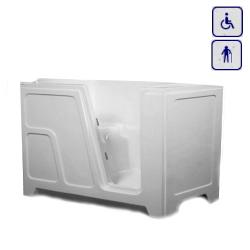 Wanna siedząca z drzwiami umiejscowionymi prawostronnie lub lewostronnie CLARA NOWA 1250x680mm