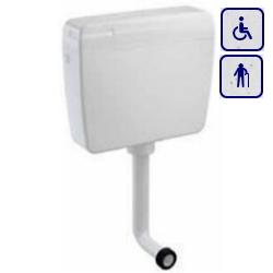 Spłuczka do misek WC Z ABS-u 3/6l A93