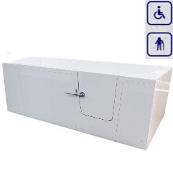 Wanna z drzwiami umiejscowionymi prawostronnie lub lewostronnie IMPRESJA 1600x760mm