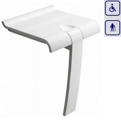 Siedzisko prysznicowe składane z podpórką ARSIS 47730