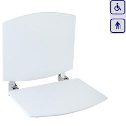 Siedzisko prysznicowe składane z oparciem 15042FIX