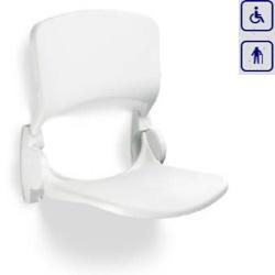 Siedzisko prysznicowe składane z oparciem LI220206
