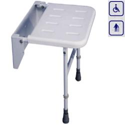 Siedzisko prysznicowe składane z nogami VB53