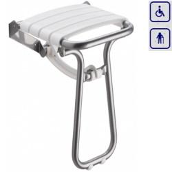 Siedzisko prysznicowe składane z podpórką FOLD 47631