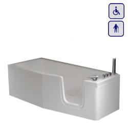 Wanna z drzwiami dla seniorów oraz osób niepełnosprawnych 1700×700 COMPACT17