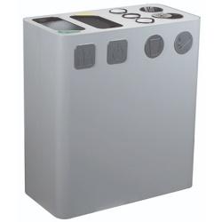 Kosz do segregacji śmieci 2-elementowy 200L AKC392033