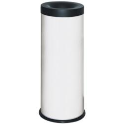 Kosz na śmieci samogasnący biały 25L AKC390005
