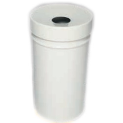 Kosz na śmieci samogasnący biały 30L AKC377012
