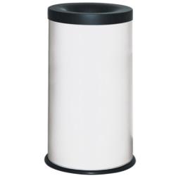 Kosz na śmieci samogasnący biały 40L AKC390009