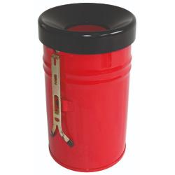 Kosz na śmieci samogasnący wiszący czerwony 16L 24L 30L 60L AKC370314