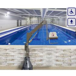 Podnośnik basenowy mobilny max obciążenie 120kg 3400