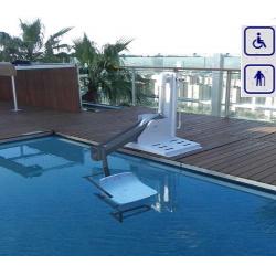 Podnośnik basenowy mobilny max obciążenie 120kg lub 150kg 600