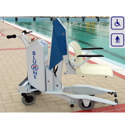 Podnośnik basenowy mobilny max obciążenie 110kg BLUONE