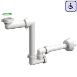 Syfon umywalkowy dla osób niepełnosprawnych BAZOOKA29