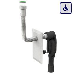 Syfon umywalkowy z elastycznym wężem dla osób niepełnosprawnych BOA33