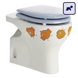 Miska stojąca WC dla dzieci z odpływem pionowym AKCB44CBD07
