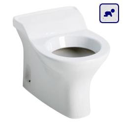 Miska stojąca WC dla dzieci z odpływem poziomym AKCB44CBS06