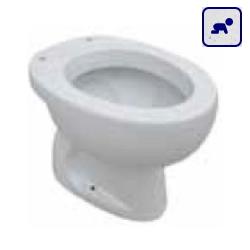 Miska stojąca WC dla dzieci z odpływem pionowym NEUTRO AKCE400