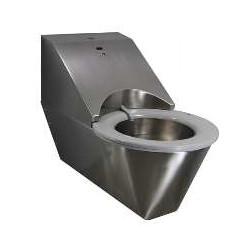 Toaleta podwieszana z deską samoczyszczącą ze stali nierdzewnej 1106