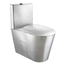 Toaleta stojąca ze stali nierdzewnej AKC 13016.S