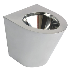 Toaleta stojąca ze stali nierdzewnej AKC13012.B / S