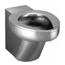 Toaleta wisząca ze stali nierdzewnej AKC650640