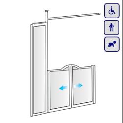 Drzwi do wnęki dla osób starszych, niepełnosprawnych, dzieci AKCV20