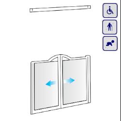 Drzwi do wnęki dla osób starszych, niepełnosprawnych, dzieci AKCV1